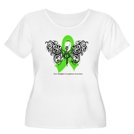Non-Hodgkin's Lymphoma Tribal Women's Plus Size Sc