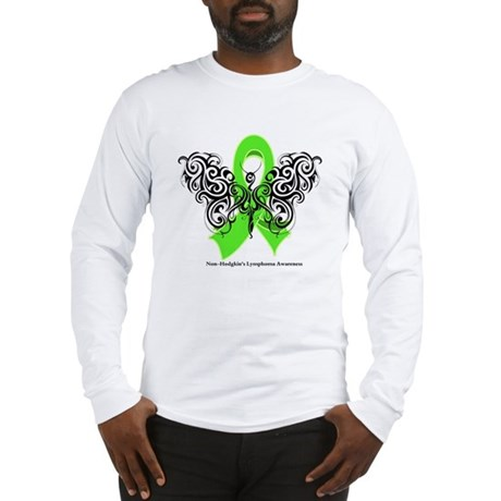 Non-Hodgkin's Lymphoma Tribal Long Sleeve T-Shirt