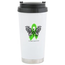 Non-Hodgkin's Lymphoma Tribal Ceramic Travel Mug