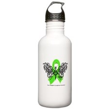 Non-Hodgkin's Lymphoma Tribal Water Bottle