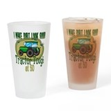 Tractor Tough 50th Pint Glass
