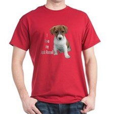 """I Love My Jack Russell"" T-Shirt"