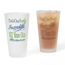 Incredible 102nd Pint Glass