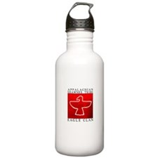 Eagle Clan Red Water Bottle