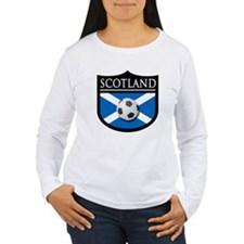Scotland Soccer Patch T-Shirt