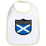 Scotland Flag Patch Bib