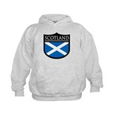 Scotland Flag Patch Hoody