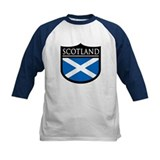Scotland Flag Patch Tee