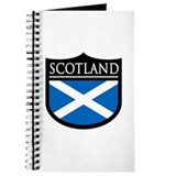 Scotland Flag Patch Journal