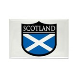 Scotland Flag Patch Rectangle Magnet (100 pack)