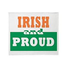 Irish and Proud Throw Blanket