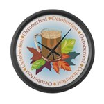 Octoberfest Large Wall Clock