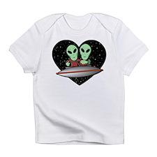 Aliens In Love Infant T-Shirt