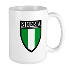 Nigeria Flag Patch Mug