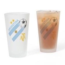 Argentina world cup soccer Pint Glass