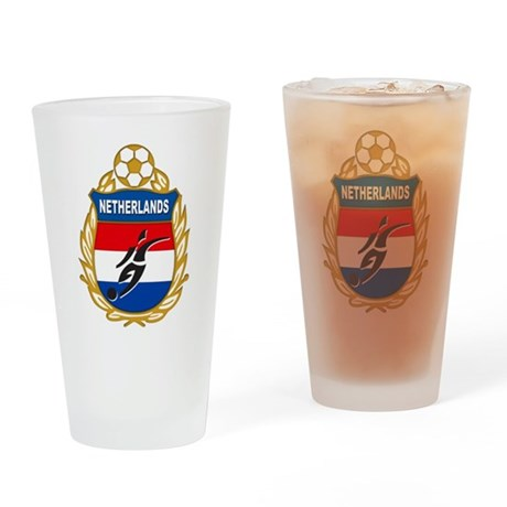 NETHERLANDS SOCCER Pint Glass