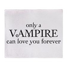 Vampire love Throw Blanket