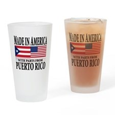 Puerto RICAN Pint Glass