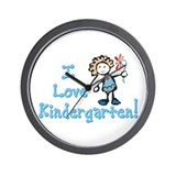 Cute Kindergarten Wall Clock