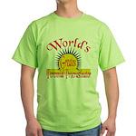 Procrastinator Green T-Shirt