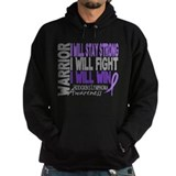 Hodgkin's Lymphoma Warrior Hoody