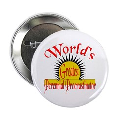 "Procrastinator 2.25"" Button (10 pack)"