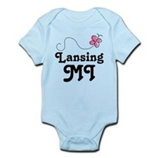 Lansing Michigan Gift Infant Bodysuit