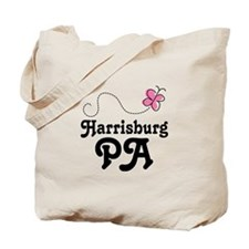 Pretty Harrisburg Pennsylvania Tote Bag