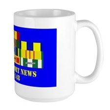USS Neport News CA-148 Mug