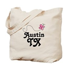 Pretty Austin Texas Tote Bag