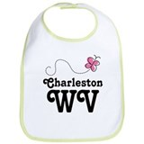 Pretty Charleston West Virginia Bib
