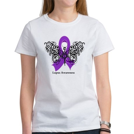 Lupus Tribal Butterfly Women's T-Shirt