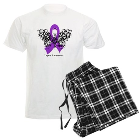 Lupus Tribal Butterfly Men's Light Pajamas