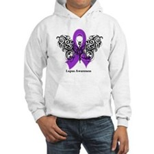 Lupus Tribal Butterfly Hoodie