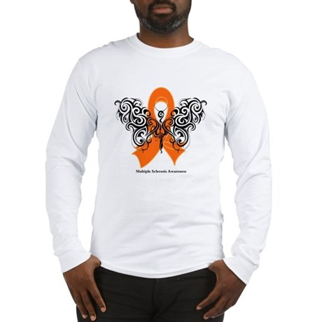 Multiple Sclerosis Tribal Long Sleeve T-Shirt