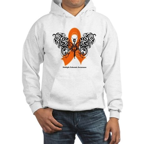 Multiple Sclerosis Tribal Hooded Sweatshirt