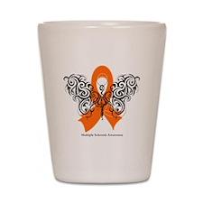 Multiple Sclerosis Tribal Shot Glass