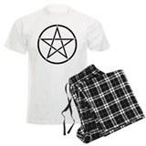 Star Pentacle Inside Circle Pajamas
