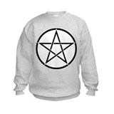 Star Pentacle Inside Circle Sweatshirt