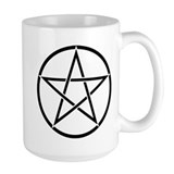 Star Pentacle Inside Circle Mug