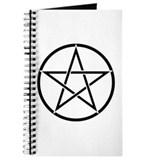 Star Pentacle Inside Circle Journal