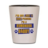 Komondor Daddy Shot Glass