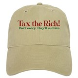 Tax the Filthy Rich Baseball Cap