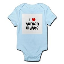 I * Human Rights Infant Creeper