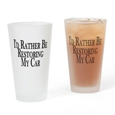 Rather Restore Car Pint Glass