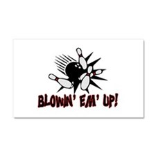 Blowin' Em' Up Car Magnet 12 x 20