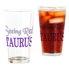 Taurus Pint Glass