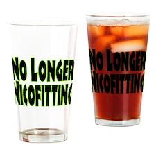 No Longer Nicofitting Pint Glass