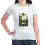 Da Vinci was a Woman Jr. Ringer T-Shirt