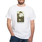 Da Vinci was a Woman White T-Shirt